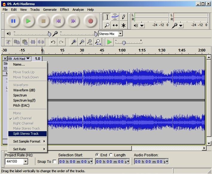 Remove Vocals from Audio Using Audacity | Secarik Kehidupan