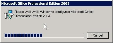 on The Move » Slipstream Microsoft Office 2003 SP3